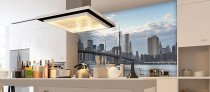 brooklyn bridge day view kitchen wall mural