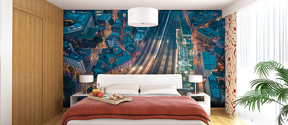 London city skyline wallpaper london wall murals pictowall for Wall papers for rooms