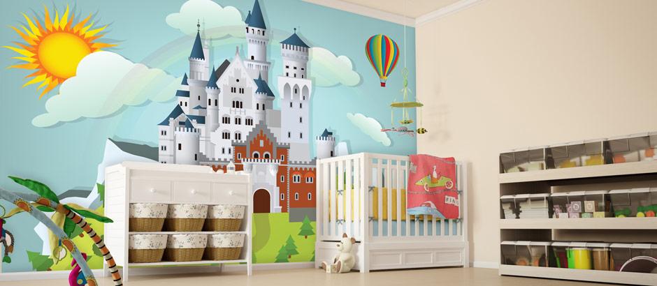 Childrenu0027s Wallpaper Ideas U2013 Make Their Dreams Come True!