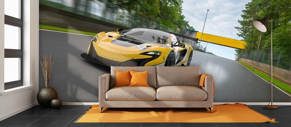 Car Wallpaper for Home Car Themed Wall Murals Pictowall