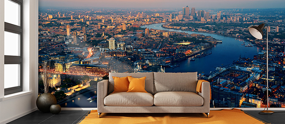 London City Skyline Wallpaper