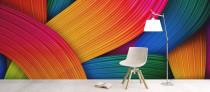 Coloured-wallpaper-mural