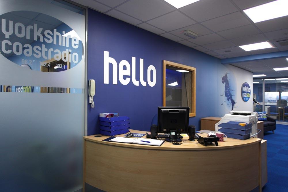Yorkshire coast radio custom wallpaper pictowall for Office design yorkshire