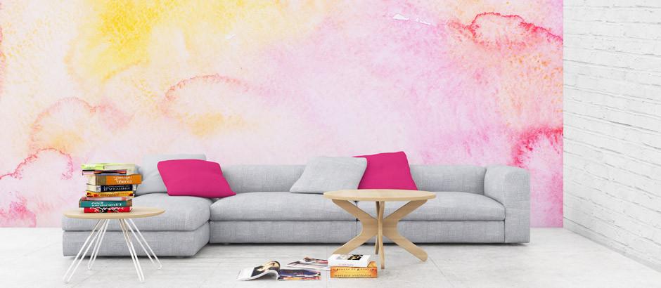 Abstract Wallpaper UK| Watercolour Wall Murals | Pictwall