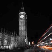 Big Ben at night London