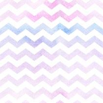 Seamless watercolor paper chevron pattern background. Pastel col
