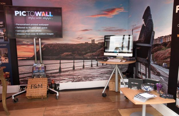 Pictowall Exhibiting at The Great Yorkshire Show 2015 as part of the Welcome to Yorkshire Stand