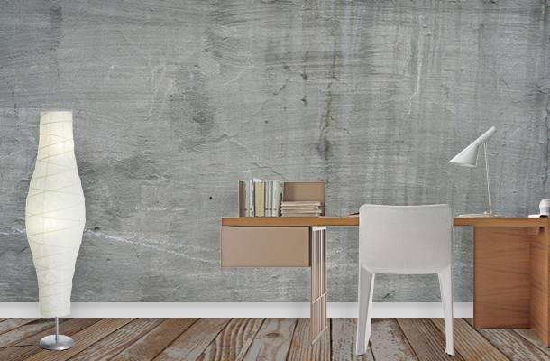 Concrete Wallpaper Murals | Interior Design Ideas | Pictowall