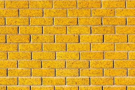 Yellow Brick effect Wall Mural