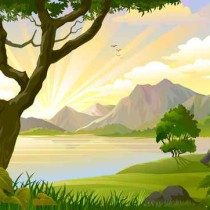 Sunrise in Amazon