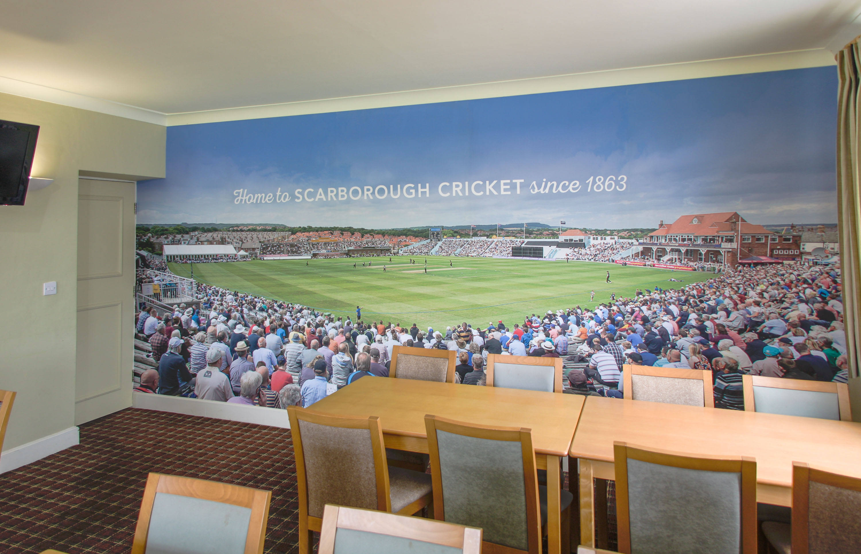 Scarborough Cricket Club Wallpaper Murals