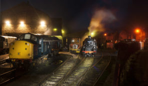 Haworth shunting yard Wallpaper mural