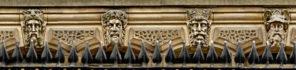 Leeds Town Hall faces Wallpaper mural