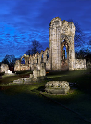 The Ruins of St Marys York Wallpaper mural