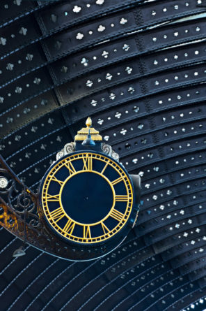 York Railway Clock no hands Wallpaper mural