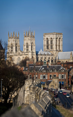 York minster from wall Wallpaper mural