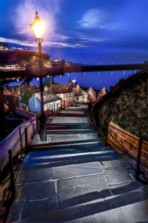 whitby 199 Steps Wallpaper mural